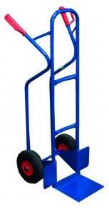 Sackkarre mit Treppenrutsche blau