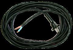 Anschlussleitung H07 RN-F 2 x 1,0 mm², 5 m schwarz
