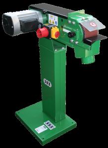 Metallbandschleifmaschine BS 122 B, 230 Volt mit Ständer