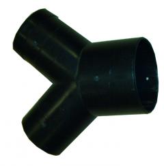 2-er Abzweiger für A-2500 von 125 mm auf 2 x 100 mm