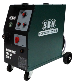 Schutzgasschweißgerät Kombimig 165 W / 200 D