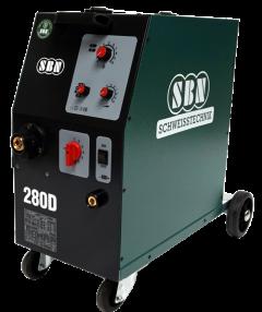 Schutzgasschweißgerät 280-4 D mit 4 Rollen Drahtvorschub