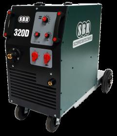 Schutzgasschweißgerät 320-4 D mit 4-Rollen Drahtvorschub