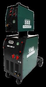 Schutzgasschweißgerät MIG LK 350 K mit Koffer