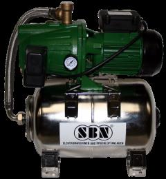 Hauswasserwerk Jett 1300 mit VA - Behälter 25 ltr.
