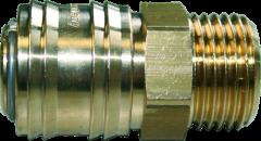 """Lufsteckdose 1/2"""" AG für Kompressor 350/10/2/50 D"""