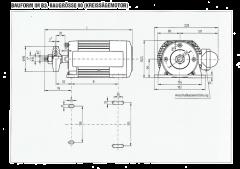 Kreissägemotor 3,0 KW / 400 V / 2800 U/min.