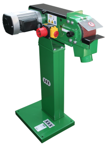 Metallbandschleifmaschine BS 122 B, 400 Volt mit Ständer