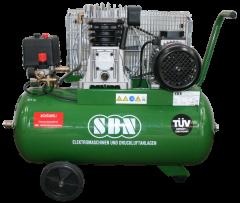 Kompressor 350/10/2/50 D, 400 Volt, fahrbar
