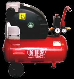 Kompressor 250/8/1/24 W 230 Volt, fahrbar