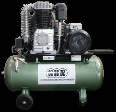 Kompressor 750/16/2/90 D 400 Volt, fahrbar