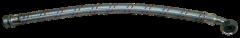 """Panzerschlauch 1"""" - 60 cm mit Winkel"""