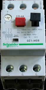 Motorschutzrelais 2,5-4,0 Amp. für Kompressor 350/10/2/50 D