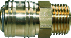 """Druckluftkupplung 1/4"""" AG / Einzelverpackung"""