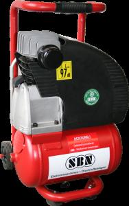 Kompressor 250/8/1/10 W 230 Volt, fahrbar und tragbar
