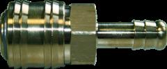 Druckluftkupplung mit fester Schlauchtülle 6 mm / Einzelverpackt