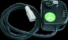 Thermostat für Heizgerät mit Spezialstecker, 3 m Kabel