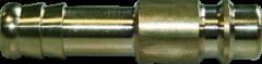 Stecktülle für 9 mm Schlauchanschluss / Einzelverpackt