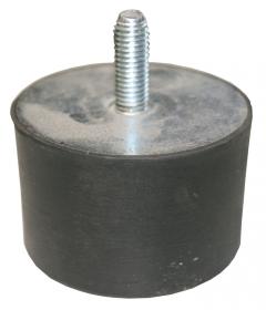 Gummischwingelement M10x27 Durchm. 50 mm, Höhe 30 mm,1xAG