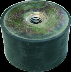 Gummischwingelement M 10 Durchm. 50 mm, Höhe 30 mm,2xIG