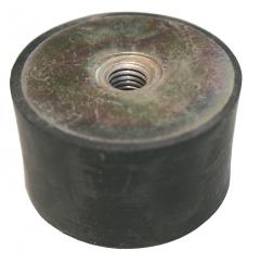 Gummischwingelement M 6 Durchm. 20 mm, Höhe 20 mm,2xIG
