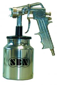 Farbspritzpistole Typ FGU Untertopfmodell