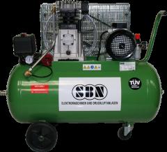 Kompressor 500/10/2/100 D 400 Volt, fahrbar
