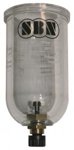 """Ersatzglas 1"""" für Filterdruckregler"""
