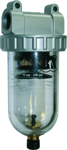 """Druckluftfilter 1/2"""", 16 bar"""