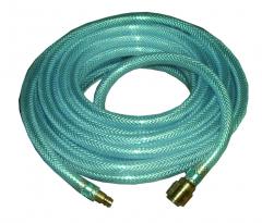 Druckluftschlauch 10 m / 6 mm mit Kupplung und Tülle