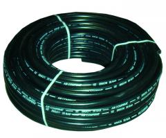 Druckluftschlauch 6 mm schwarz / 100 m Rolle