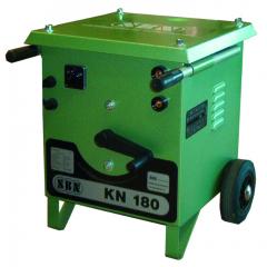 E-Schweißgerät KN 180 mit abn. Schweißplatzausrüstung