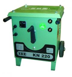 E-Schweißgerät KN 220 mit abn. Schweißplatzausrüstung