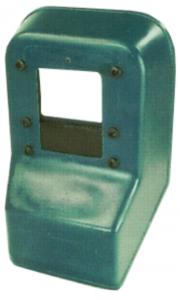 Handschutzschild aus Glasfiber mit Sichtfenster