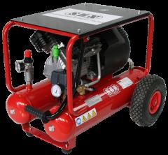 Kompressor 340/10/2/2x10 W, fahrbar