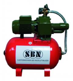 Hauswasserwerk Jett 2000 mit 60 ltr. Kessel 400 Volt