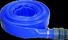 """Wasserschlauch f. Tauchpumpen 1 1/2"""" - 10 m / PVC"""