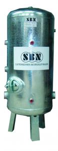 Wasserbehälter 150 ltr, 6 bar, stehend, DIN 4810