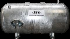 Wasserbehälter 150 ltr., 6 bar liegend,