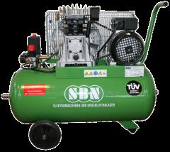 Kompressor 350/10/2/50 W 230 Volt, fahrbar